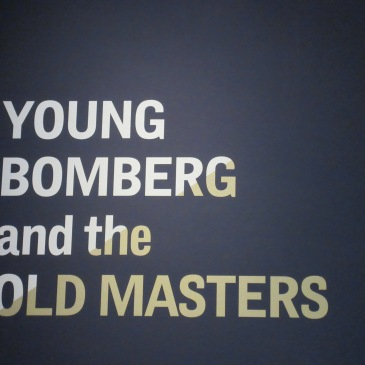 Young Bomberg and the Old Masters