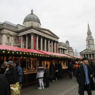 Christmas Market in Trafalgar Square - photo by Juliamaud