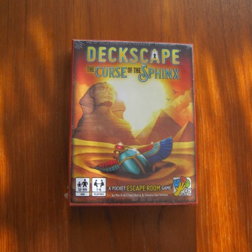Deckscape - The Curse of the Sphinx - photo by Juliamaud