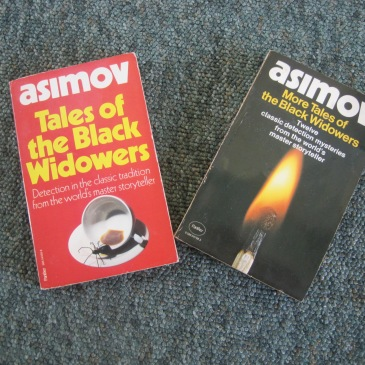 Asimov books - photo by Juliamaud