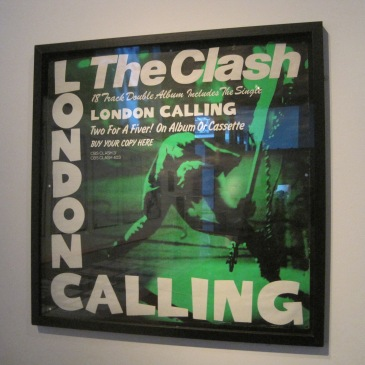 The Clash Exhibition - photo by Juliamaud