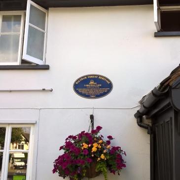 Larkshall Farm Blue Plaque - photo by Juliamaud